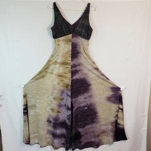 Women's Gorgeous Tie Dye Dress sz M Medium